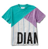 Emerald Directional Knit Short Sleeve Tee - Multi