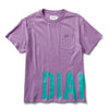 Emerald Pocket Tee - Purple