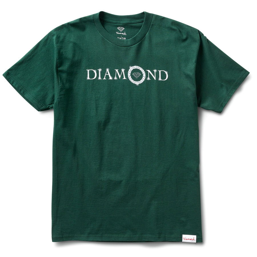 Pendant Tee - Forest Green