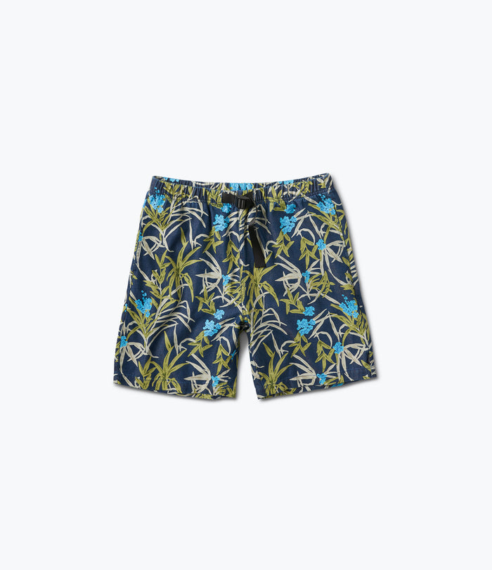 Savanna Blue Belted Shorts, Summer 2017 Delivery 2 Cut-n-Sew -  Diamond Supply Co.