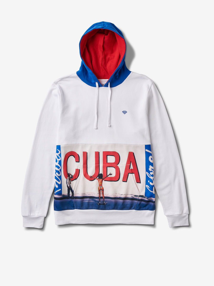 Cuba Hoodie, Summer 2018 Cut-N-Sew -  Diamond Supply Co.