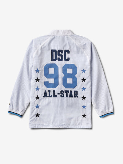 DSC All Star Coaches Jacket, Summer 2018 Cut-N-Sew -  Diamond Supply Co.