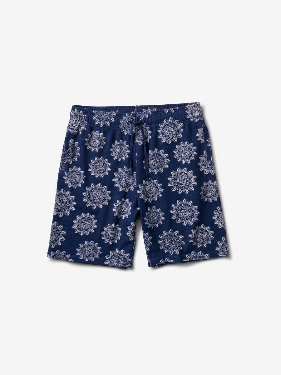 Indigo Pin Up Sweatshorts