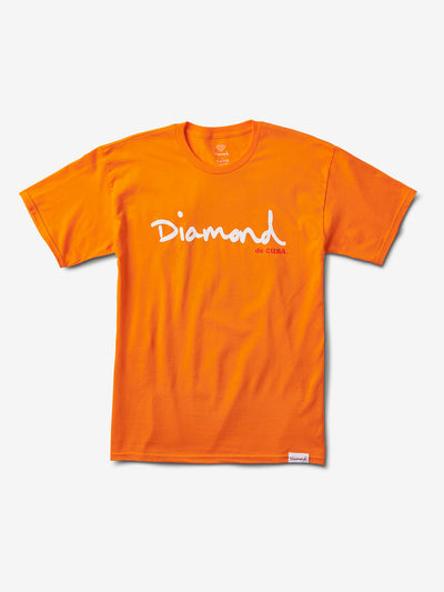 De Cuba Script Tee, Summer 2018 Tee Printable -  Diamond Supply Co.