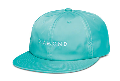 Leeway 6-Panel Unstructured Strapback - Teal