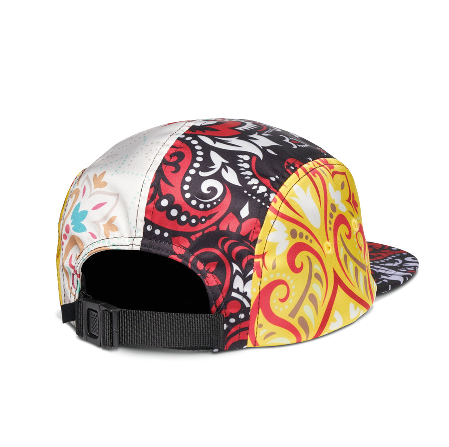 Paisley Patchwork Camper Hat - Multi