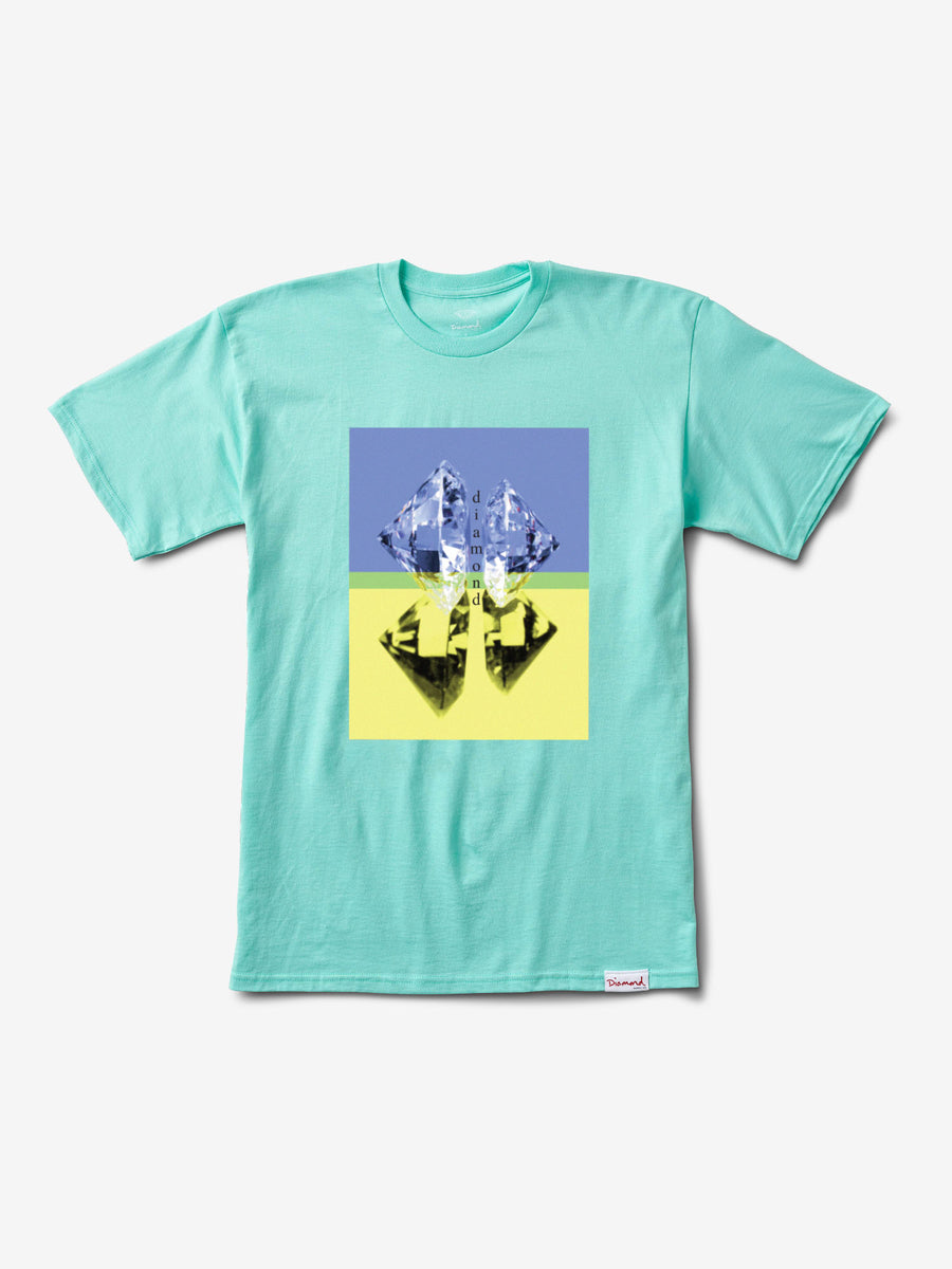 Duplicated Tee - Diamond Blue