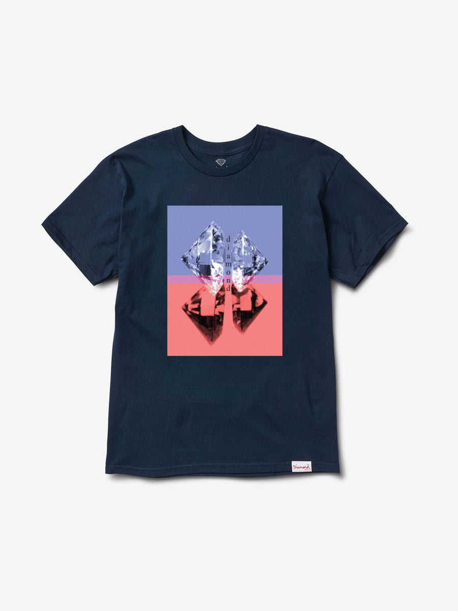 Duplicated Tee - Navy