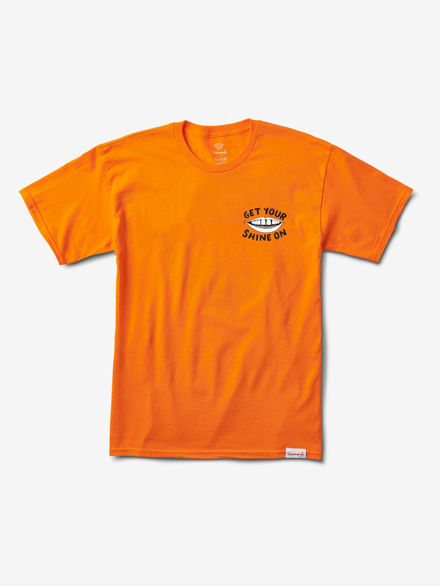 Shine On Tee - Orange