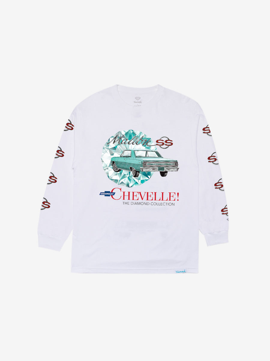 Diamond x Chevelle Malibu Longsleeve - White