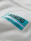 Diamond Polar Fleece Hoodie - White