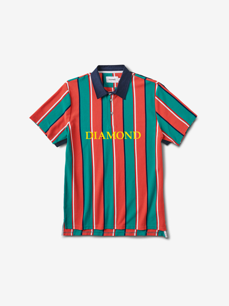Striped Polo - Multi Color