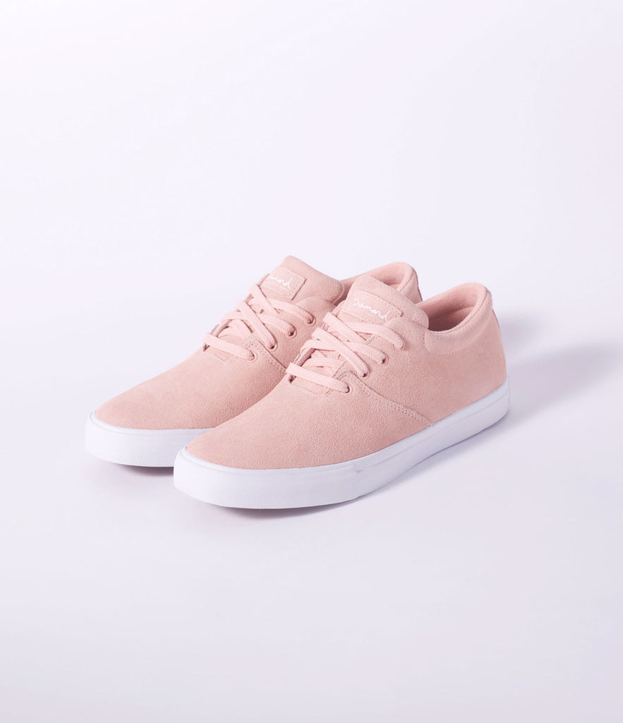 The Torey in Pink Suede