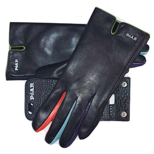 Hand Glove Mobile Smartphone Anti Drop Anti Theft Protector Device- Leather Phone Case