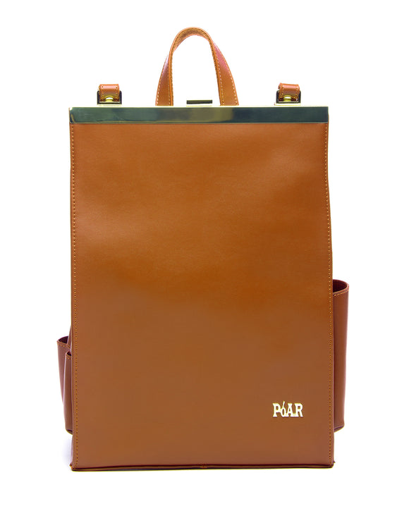 The Commuter BackPack - Brown - PóAR® Wear