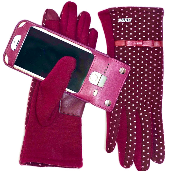 Hand Glove Mobile Smartphone  Anti-Drop Anti- Theft Protector Device by PóAR® - PóAR® Wear