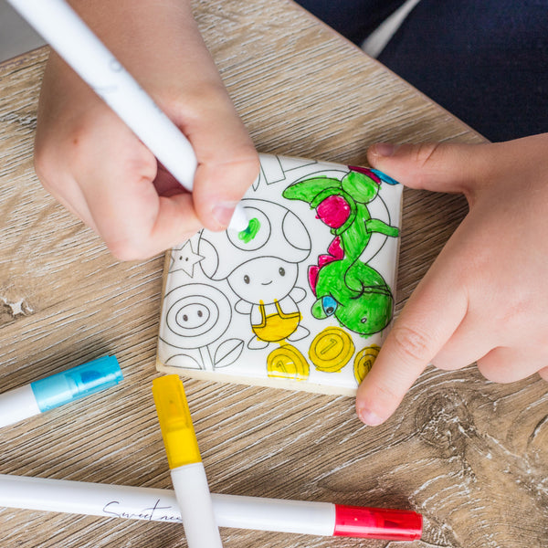 Play Series {Colouring Cookies}