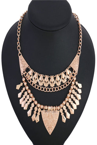 Empress Justina Roman Coin Statement Necklace