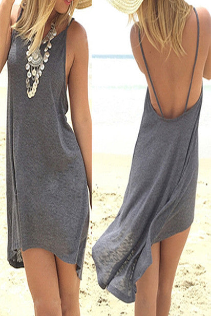 Monaco Casual Summer Beach Dress - Indie Boho Boutique