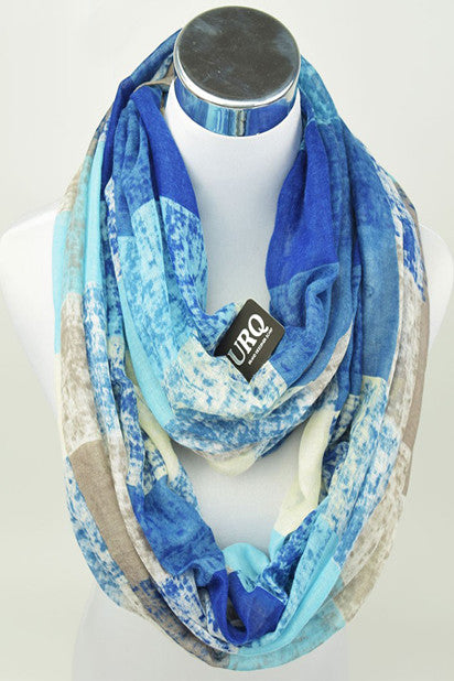The Rhiannon Scarf In Ocean Breeze - Indie Boho Boutique