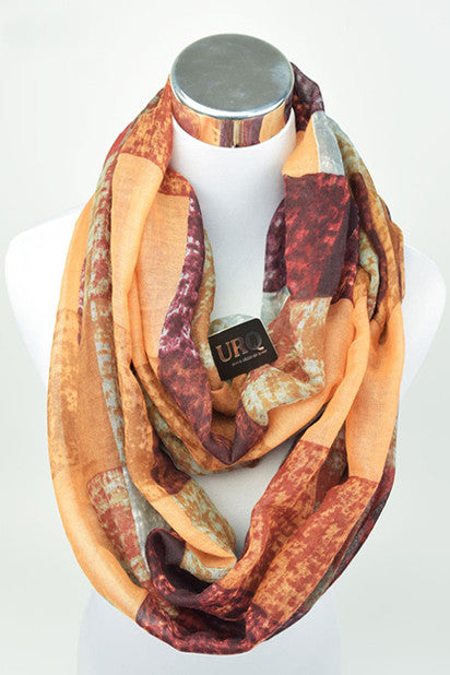 The Rhiannon Scarf In Summer Peach - Indie Boho Boutique