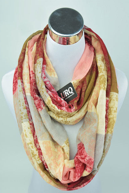 The Rhiannon Scarf In Sangria - Indie Boho Boutique