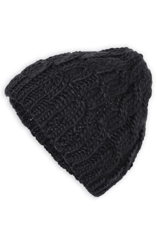Knitted Turban Headband (Black)
