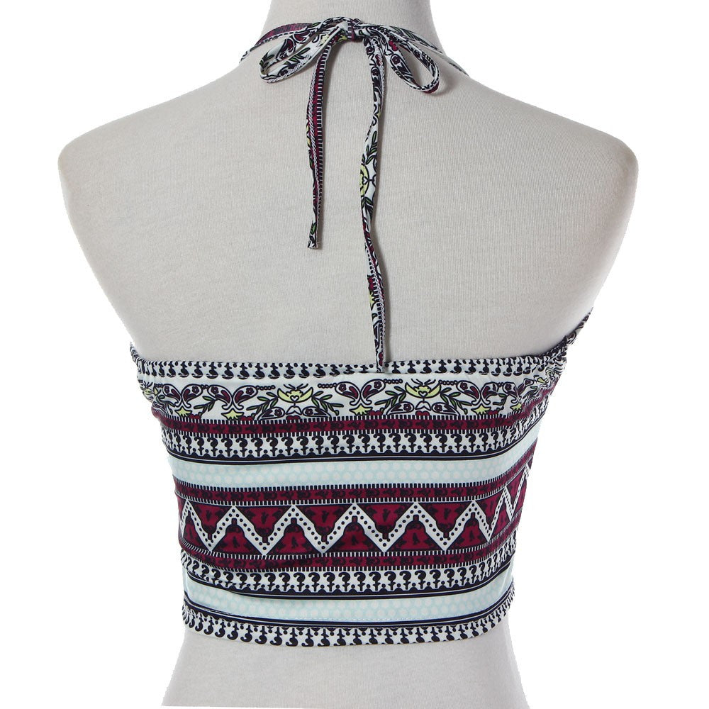 Machu Pichu Caliente Crop Top - Indie Boho Boutique