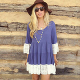 SPECIAL - Autumn Half Sleeve Vintage Boho Dress (2 for $49.99!) - Indie Boho Boutique