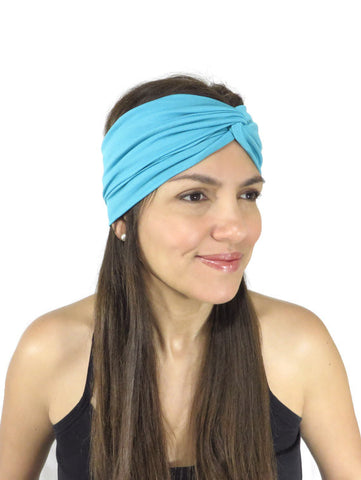 Moon Shadow Turban Headband (Midnight Black)