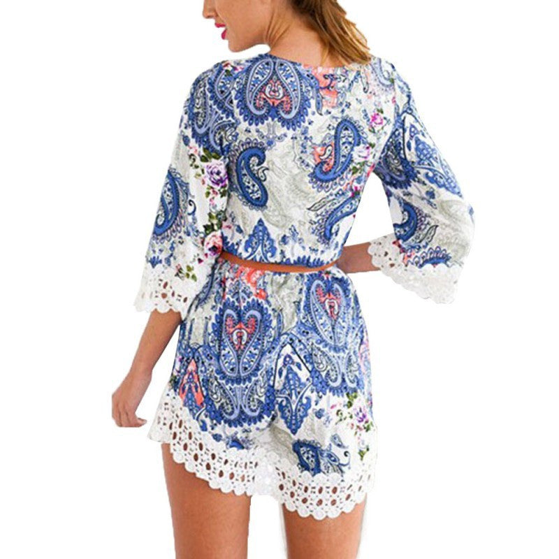 Paisley Lace Boho Beach Dress (Crochet) - Indie Boho Boutique