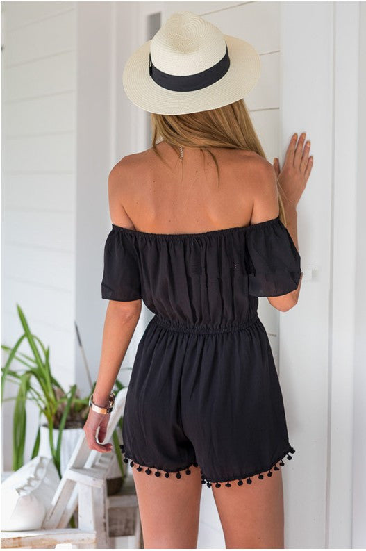 The Taylor Chiffon Romper - Indie Boho Boutique
