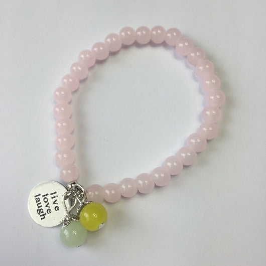 Live Love Laugh Candy Bracelet - Fabulous Boutique Online