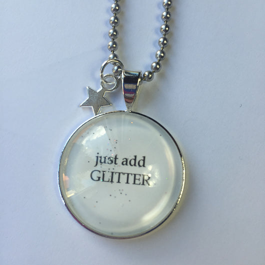 Just Add Glitter Necklace - Fabulous Boutique Online
