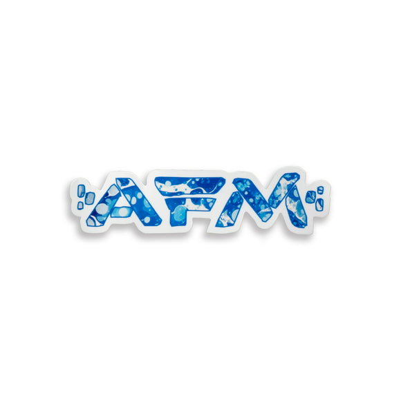 AFM - Blue Camo Sticker
