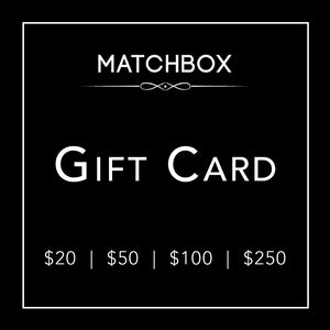 Matchbox | $20 Gift Card