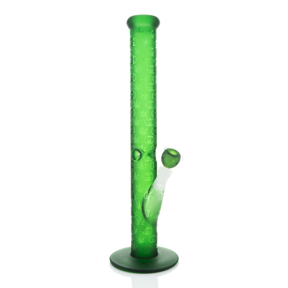 "MB - Green 18"" GG Print Straight Tube"