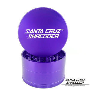 Santa Cruz Shredder - Large 4 Piece Grinder | Purple