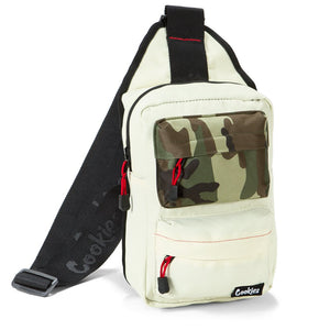 Cookies - Rack Pack Shoulder Sling Bag | Cream