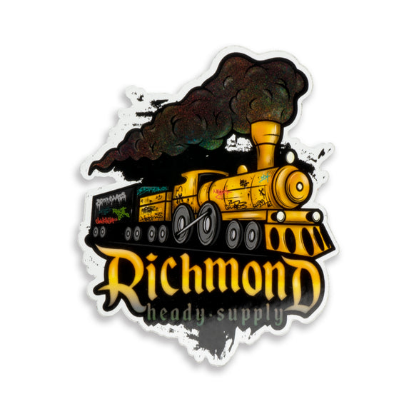 Richmond Heady Supply - Large Railroad Sticker
