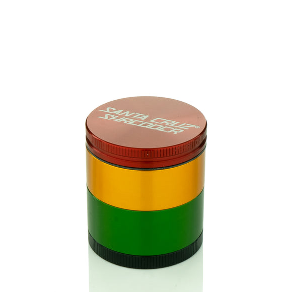 Santa Cruz Shredder - Small 4 Piece Grinder | Rasta