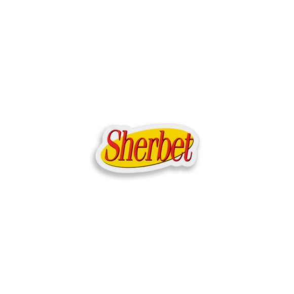 Sherbet - About Nothing Sticker