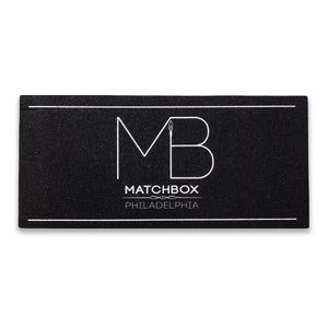 Matchbox Signature Mat | White (X-Large)