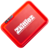 Zkittlez - LED Glow Rolling Tray | Red