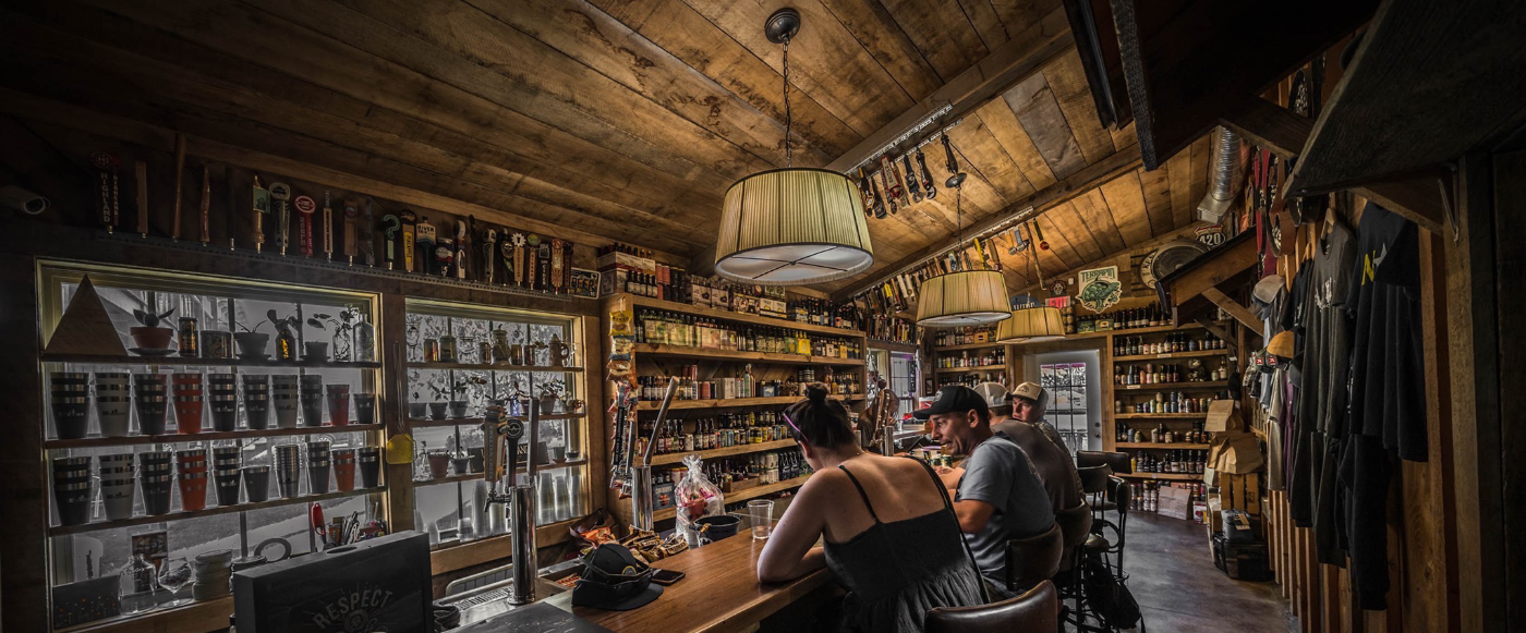 Bryson City Outdoors Craft Beer Department and Taproom