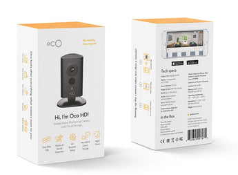 Oco HD with Local and Cloud storage (3-Pack)