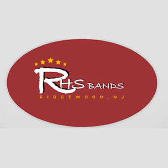 RHS Bands Car Magnet