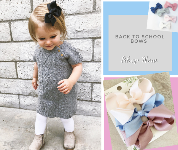 Get 25% Off Your Back To School Bows For a Limited Time