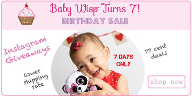 Happy 7th Birthday Baby Wisp!  Time for 7 days of deals!