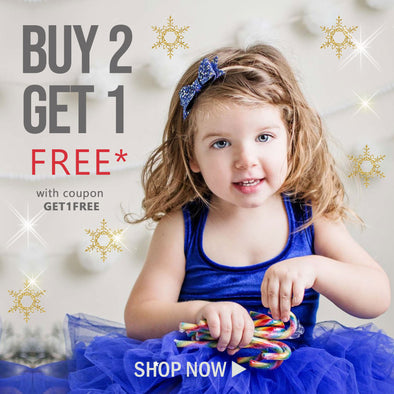 Buy Two Get One FREE* - Happening now!